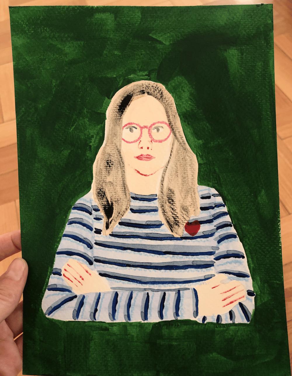 Self-Portrait - image 1 - student project
