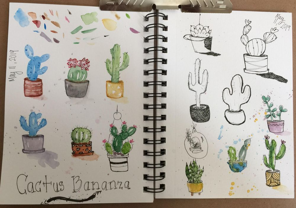 Cactus Bananza - image 1 - student project