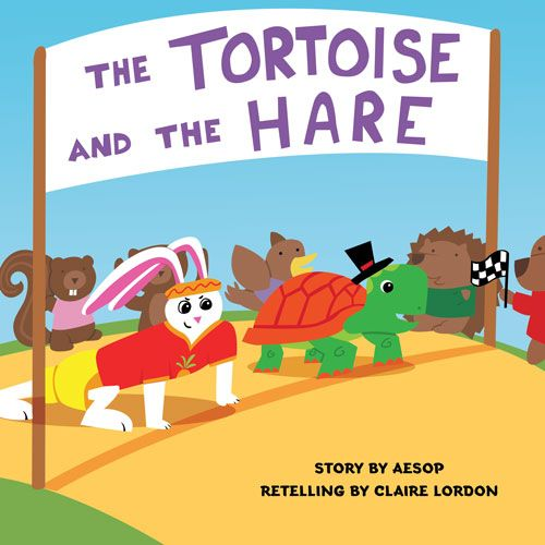 My color spreads from The Tortoise and the Hare - image 1 - student project