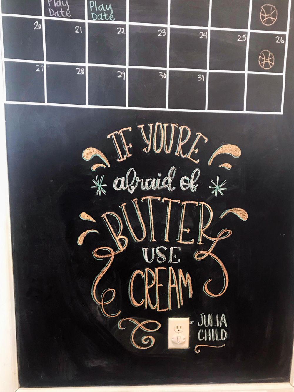 Kitchen Chalkboard - image 1 - student project