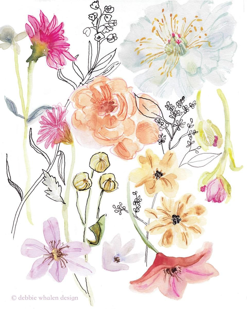 Loose Floral - image 3 - student project