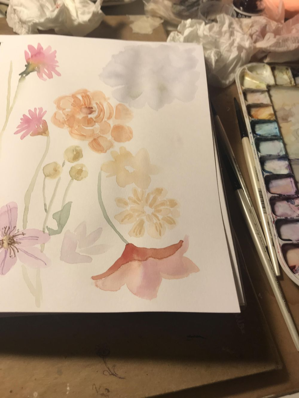 Loose Floral - image 2 - student project
