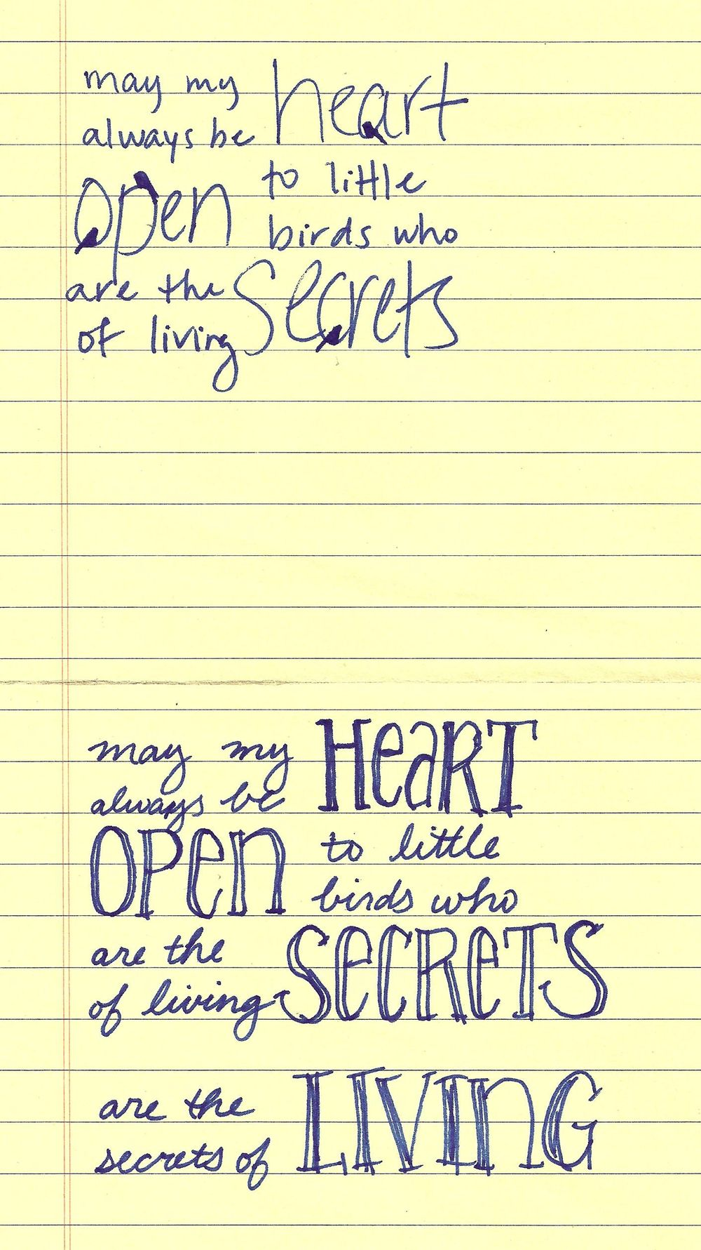 May my heart always be open - image 3 - student project