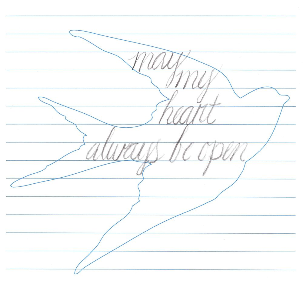 May my heart always be open - image 1 - student project