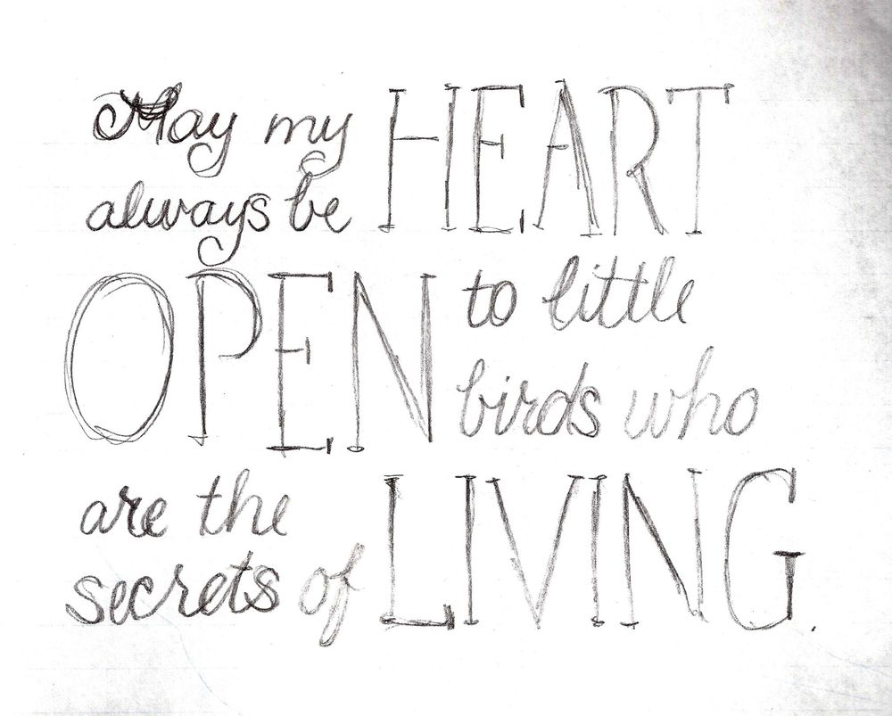 May my heart always be open - image 4 - student project