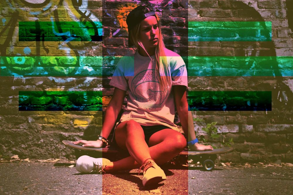 Glitch Effect - image 5 - student project