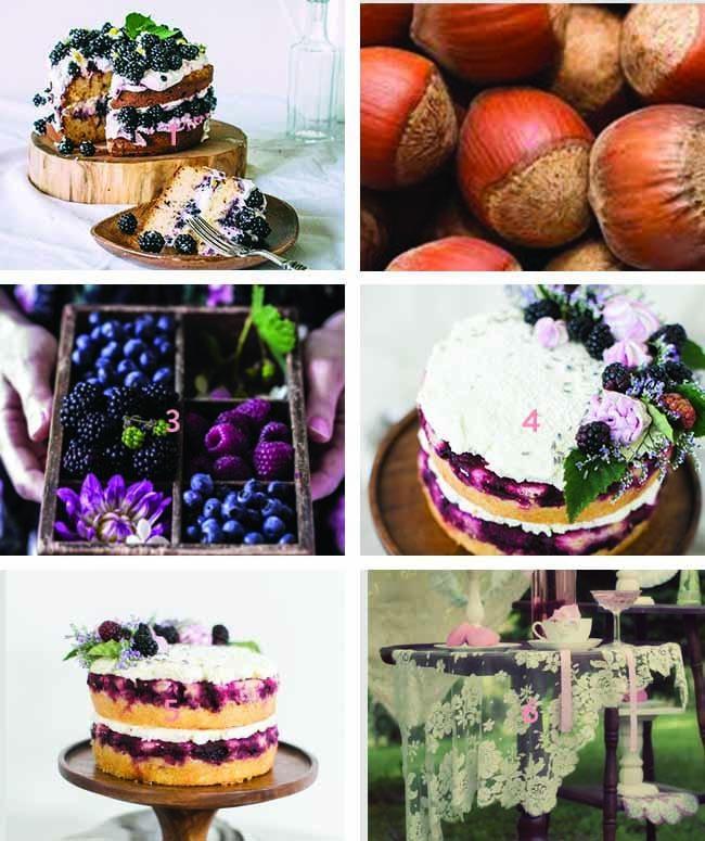 HAZELNUT AND BLACKBERRY CAKE - image 1 - student project