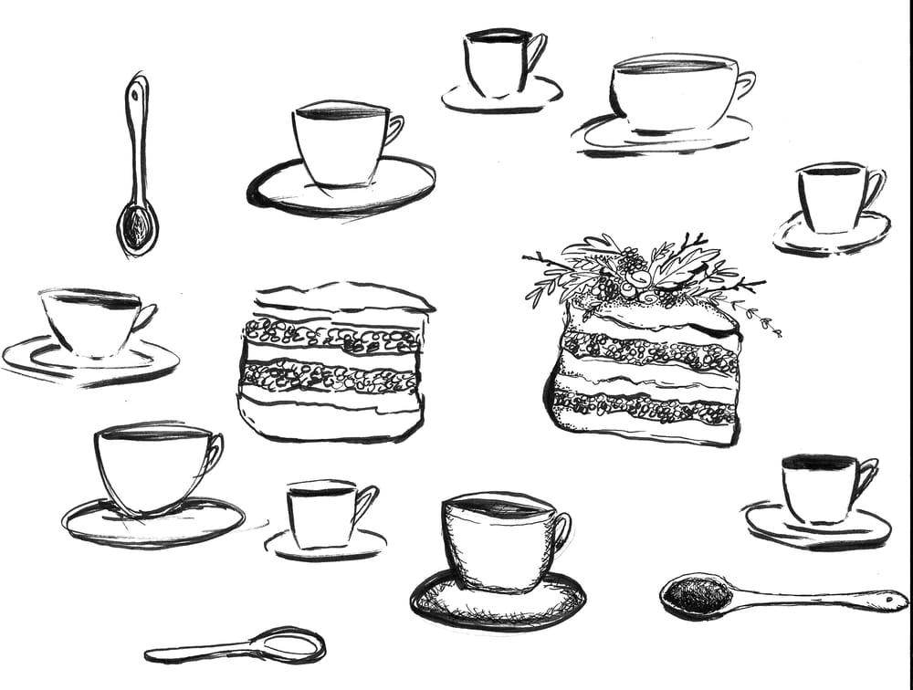 HAZELNUT AND BLACKBERRY CAKE - image 2 - student project