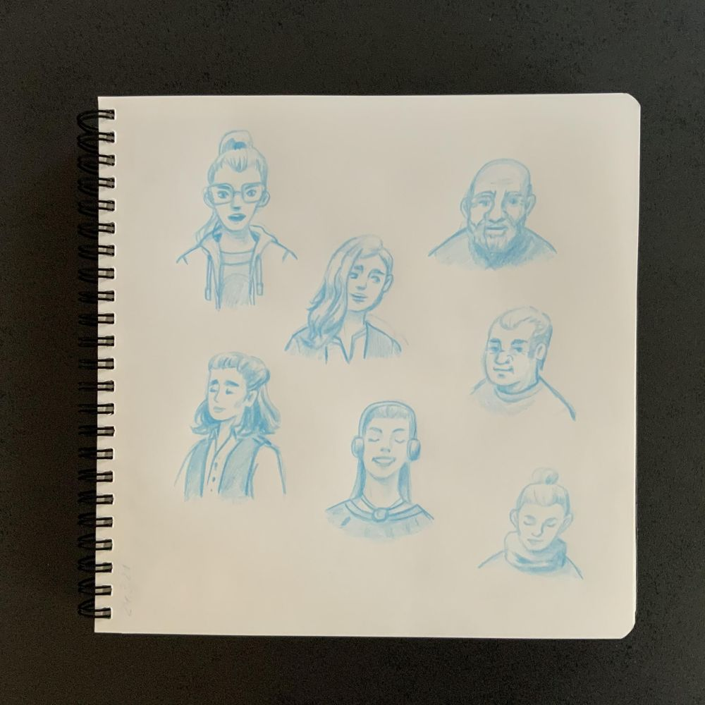 Having fun with my sketchbook - image 13 - student project