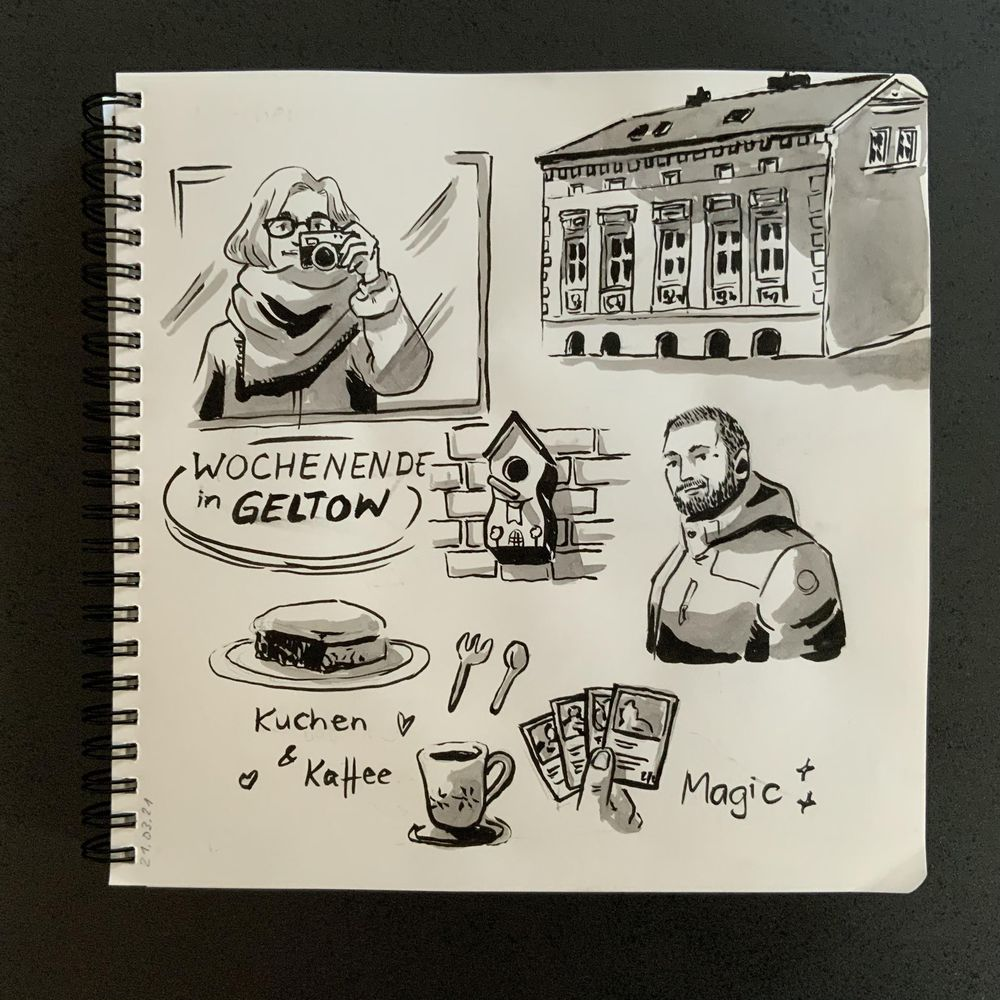 Having fun with my sketchbook - image 9 - student project