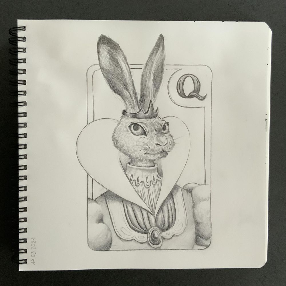Having fun with my sketchbook - image 3 - student project
