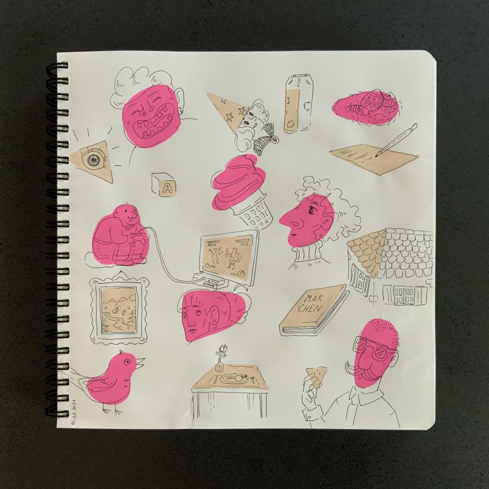 Having fun with my sketchbook - image 5 - student project