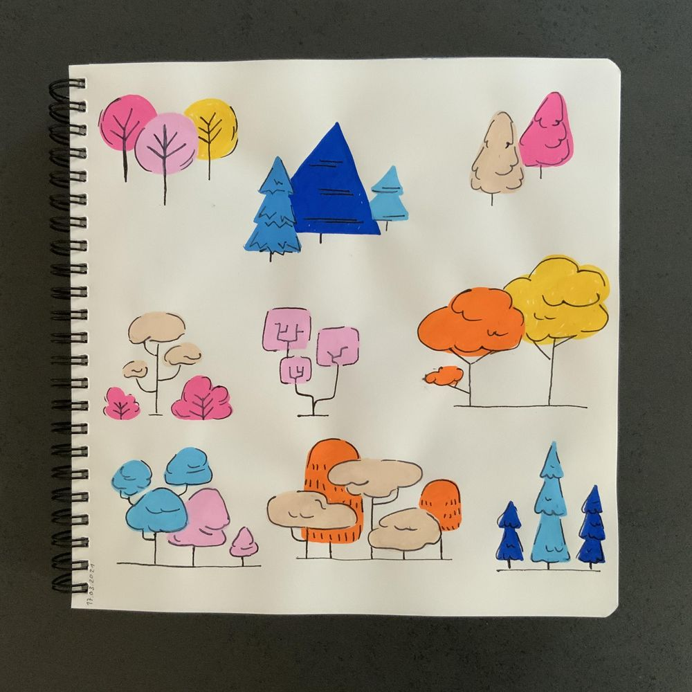 Having fun with my sketchbook - image 8 - student project