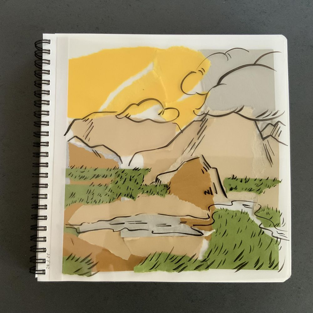 Having fun with my sketchbook - image 12 - student project