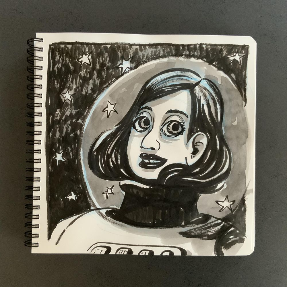 Having fun with my sketchbook - image 14 - student project