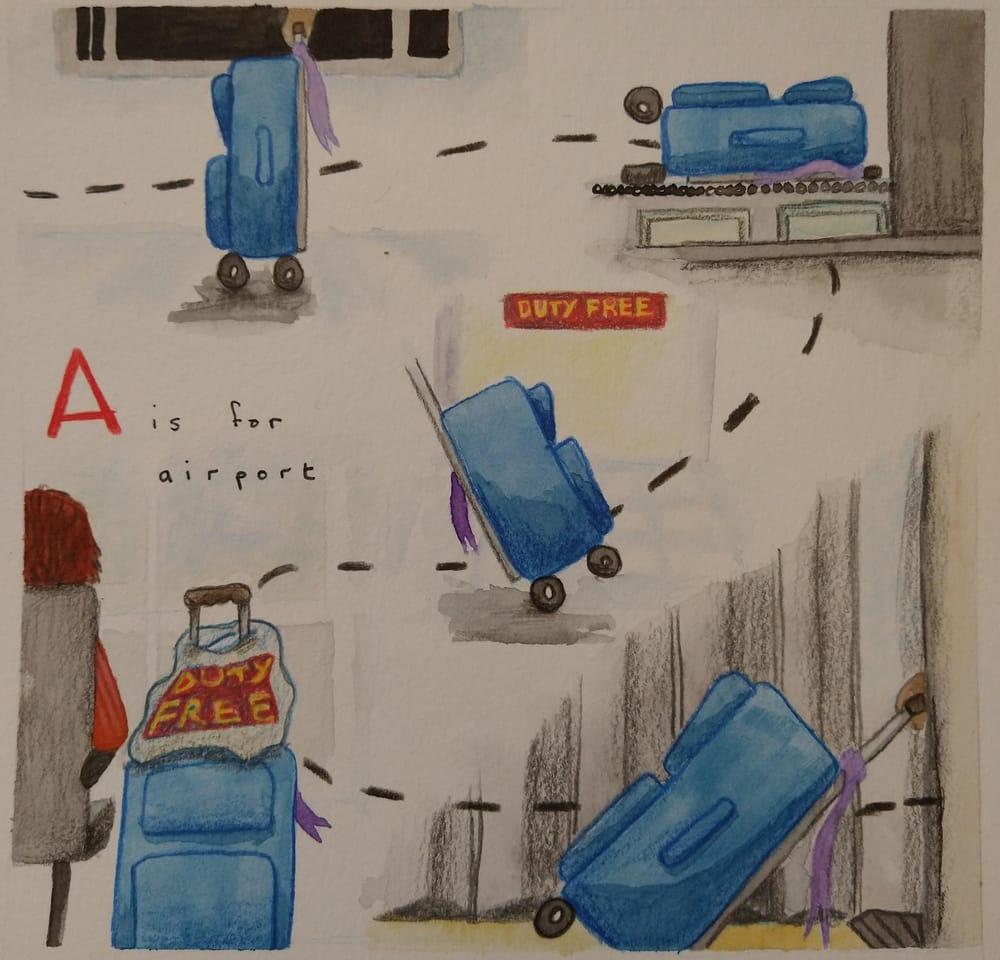 Inspiration Study - Oliver Jeffers - image 3 - student project