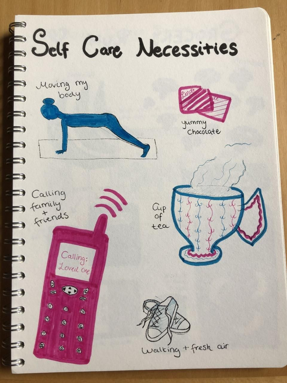 28 Day Self-Care Challenge Workshop - image 9 - student project