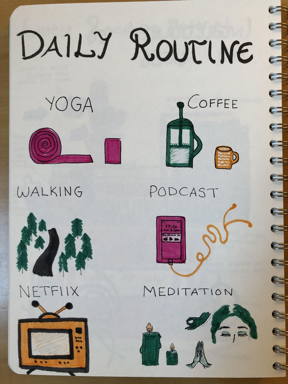 28 Day Self-Care Challenge Workshop - image 6 - student project