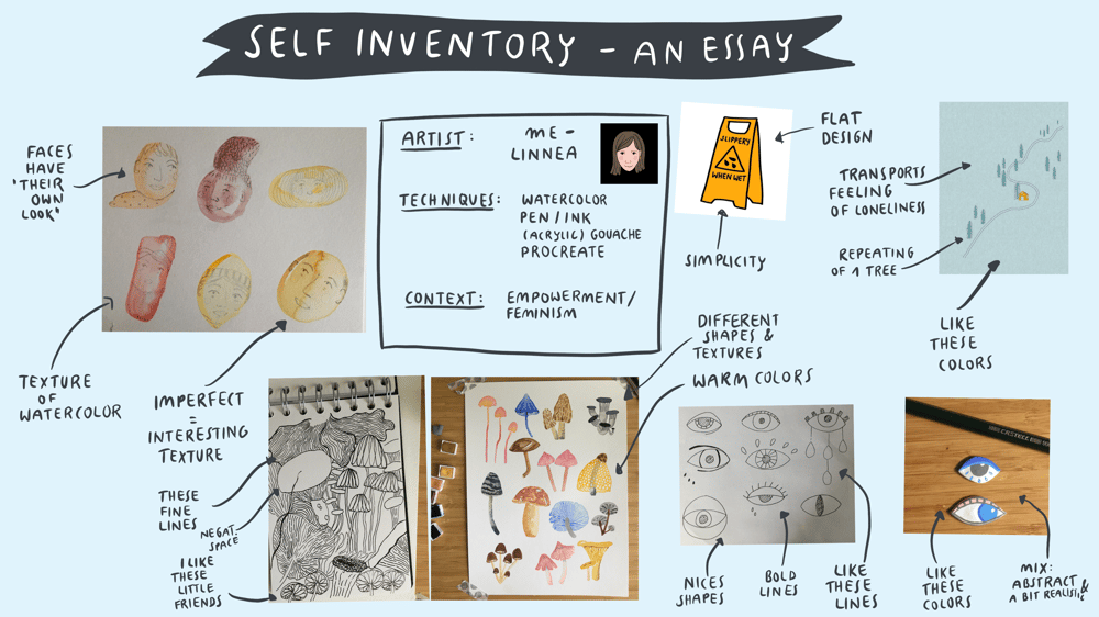 Inspiration Case Studies | Self Inventory – An Essay | tbc - image 4 - student project