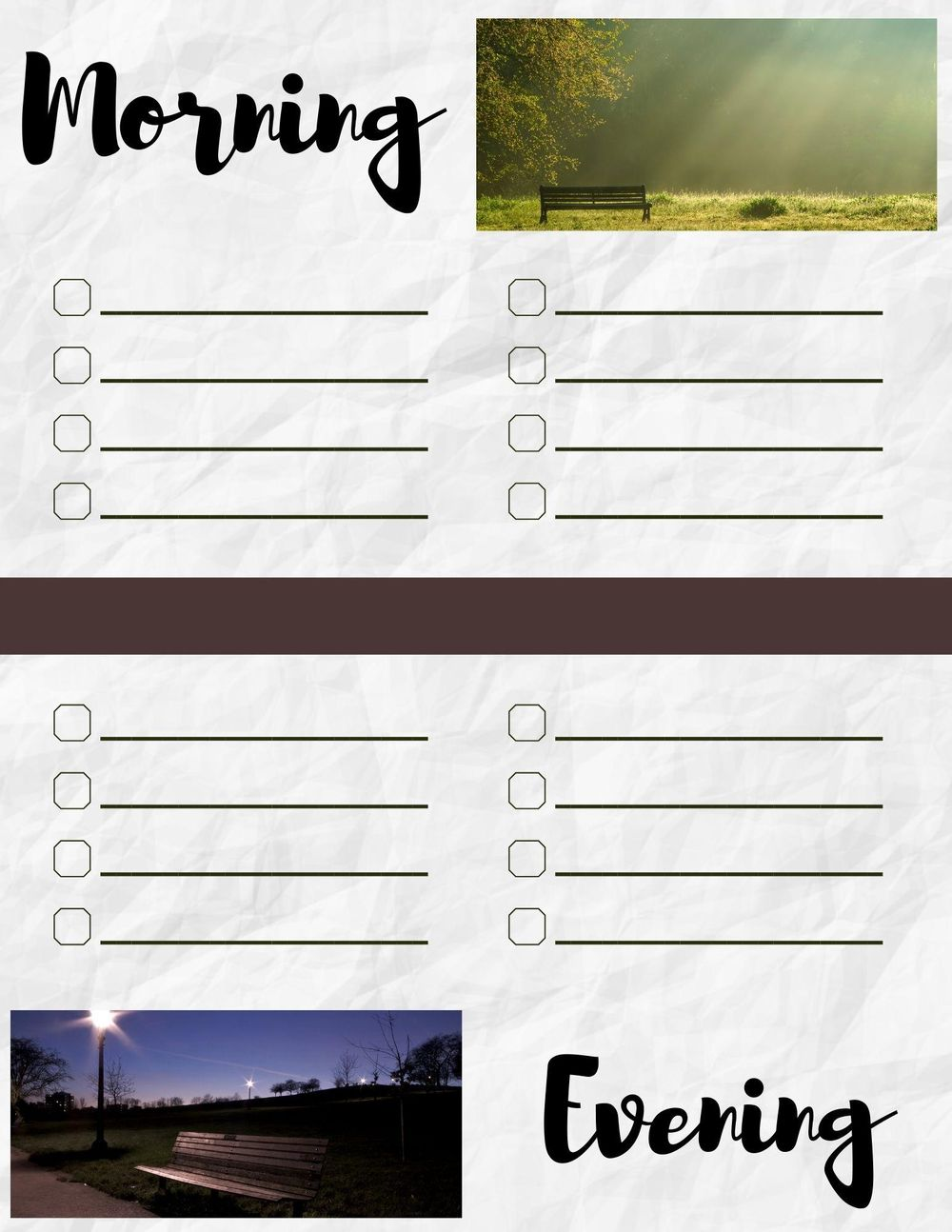1st Checklist Designs Created - image 1 - student project