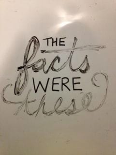 The facts were these - image 1 - student project