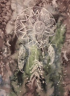 Galaxy dream catcher - image 1 - student project