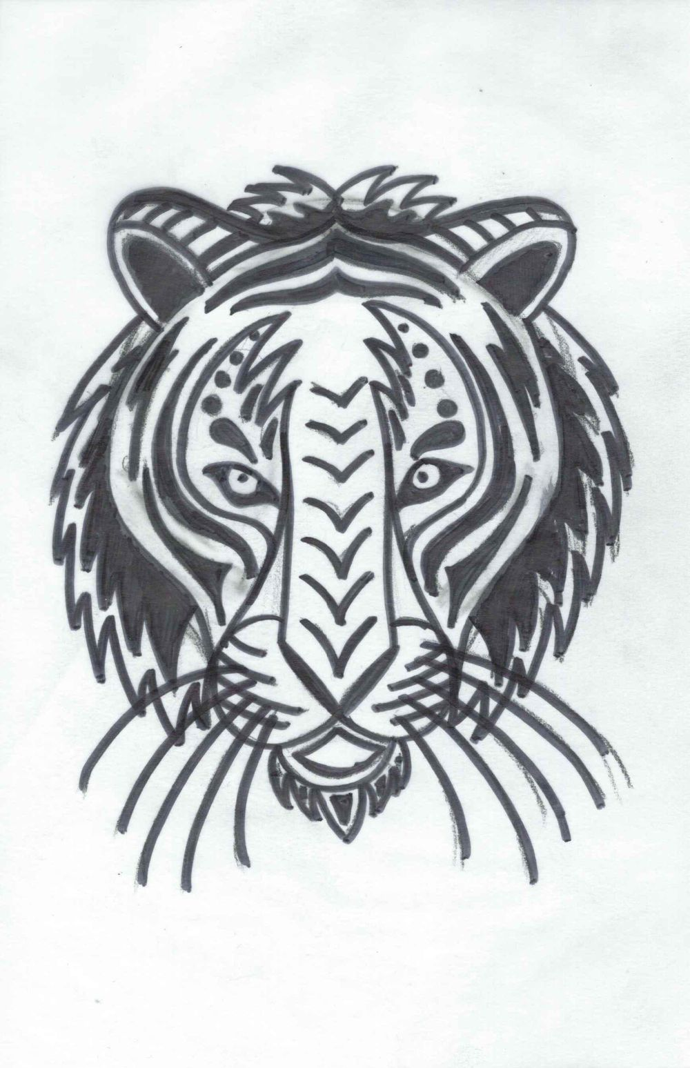 The Tiger - image 1 - student project