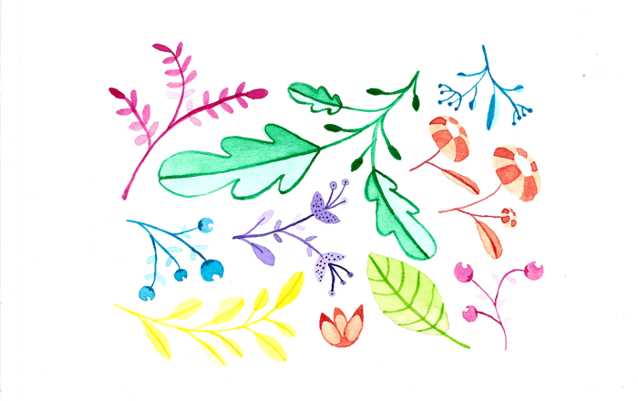 Pretty colorful patterns - image 1 - student project