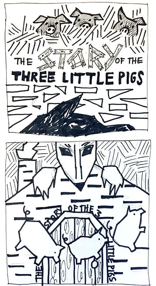 Betsy Powers Story of the Three Little Pigs - image 1 - student project