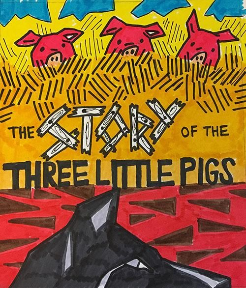 Betsy Powers Story of the Three Little Pigs - image 2 - student project