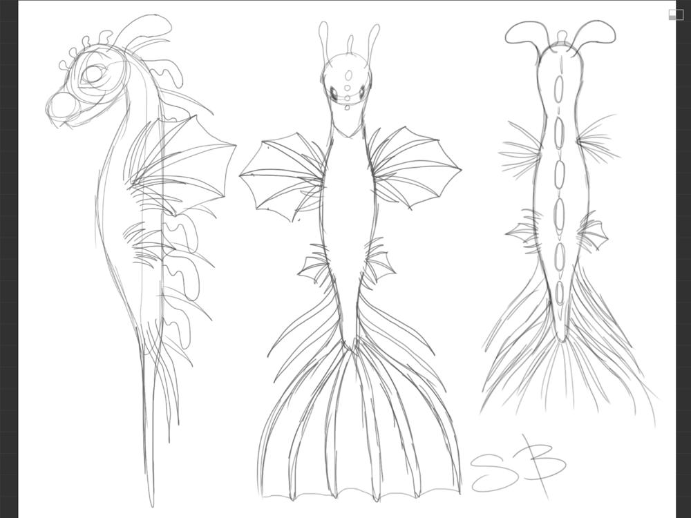 Lion Fish/Leafy Sea Dragon - image 4 - student project
