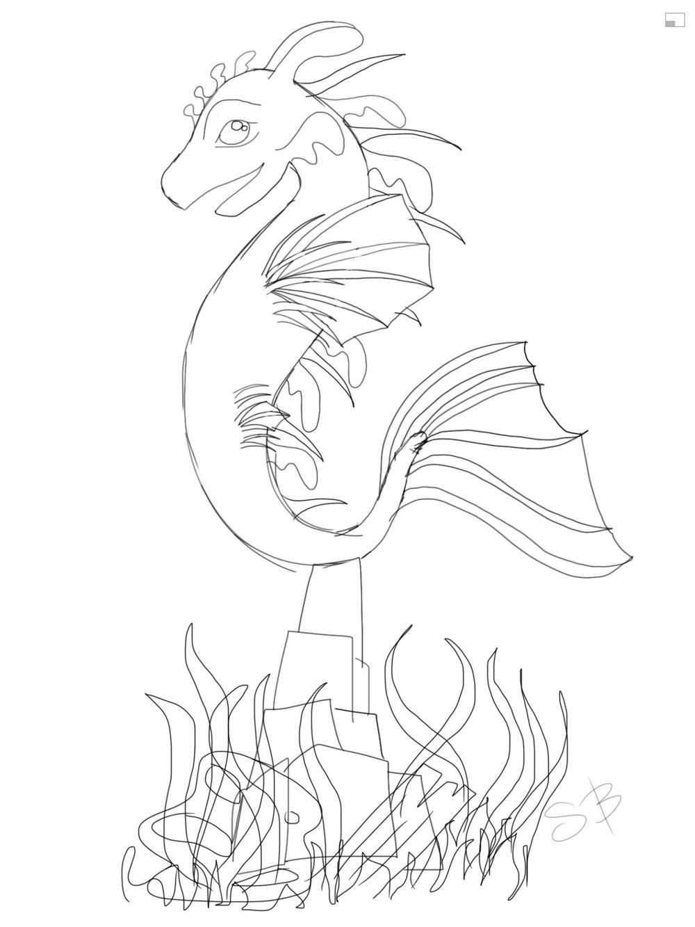 Lion Fish/Leafy Sea Dragon - image 5 - student project