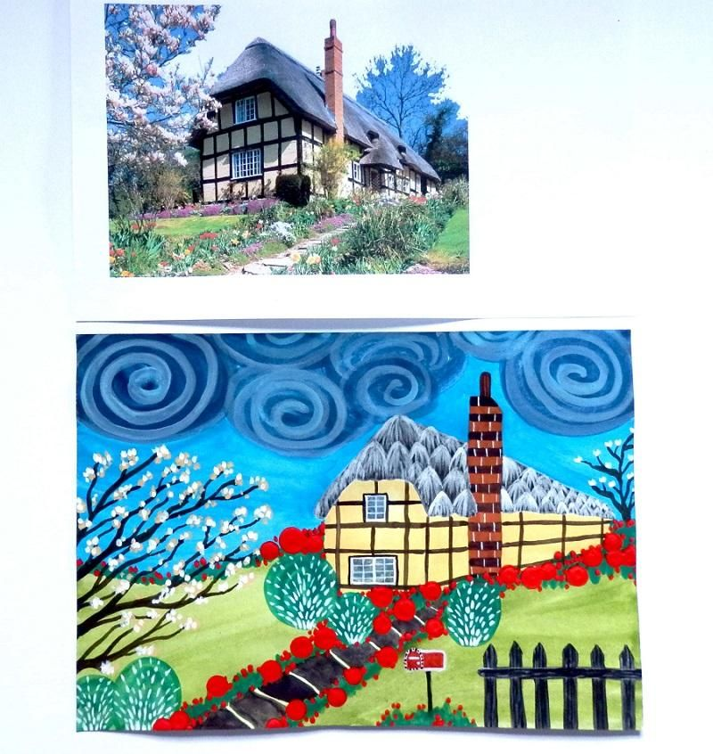 abstract take on a countryhouse - image 1 - student project