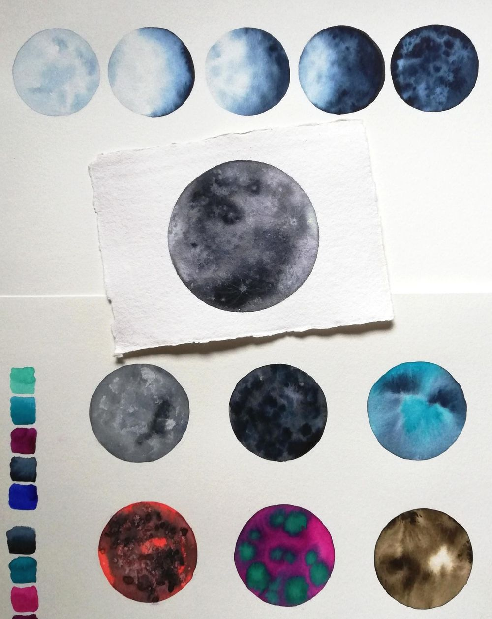 my moon studies - image 1 - student project