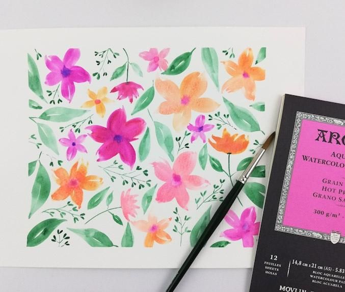 """my """"loose florals"""" attempt - image 1 - student project"""