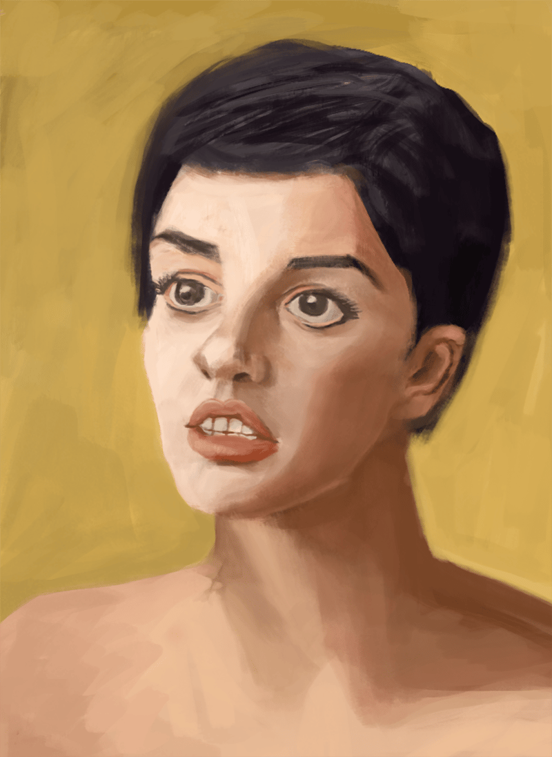 The portrait - image 2 - student project