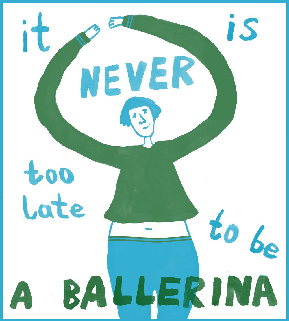 It is never too late to be a ballerina - image 2 - student project