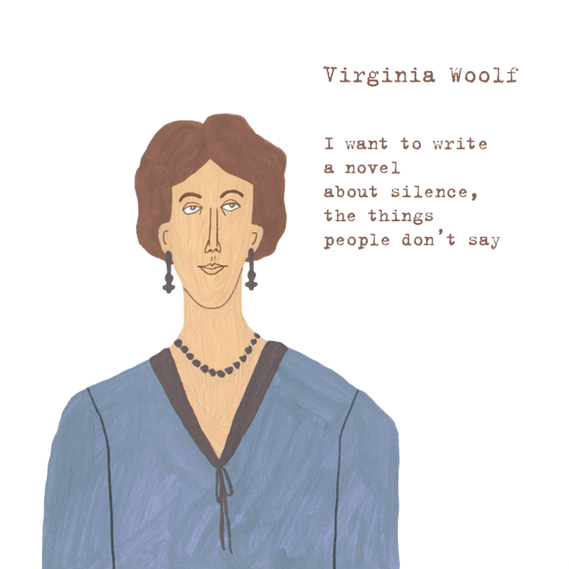 Virginia Woolf - image 1 - student project