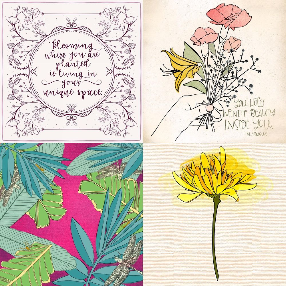 Botanical Illustration - image 1 - student project
