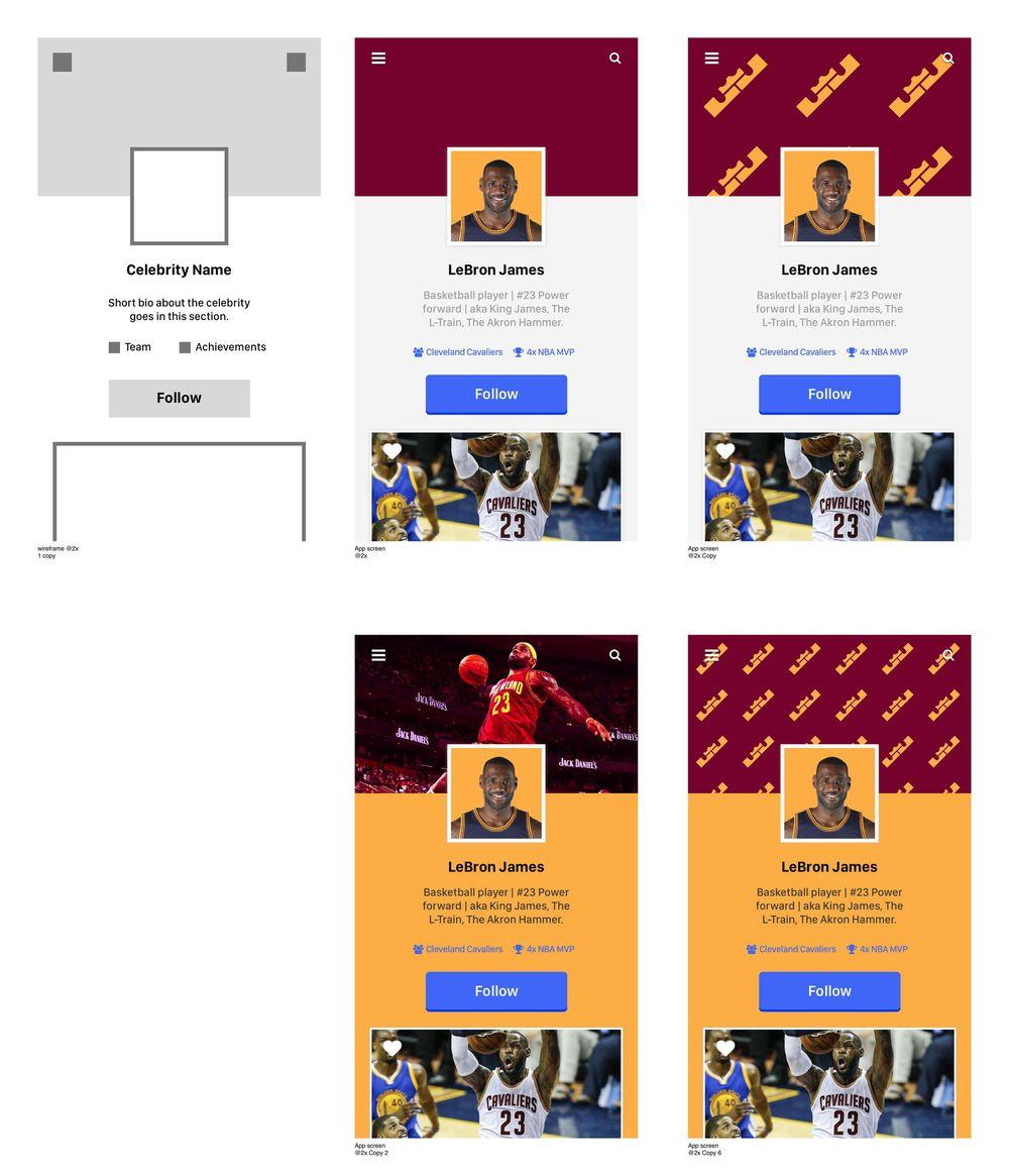 LeBron James - User Profile - image 3 - student project