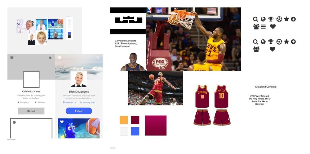 LeBron James - User Profile - image 1 - student project