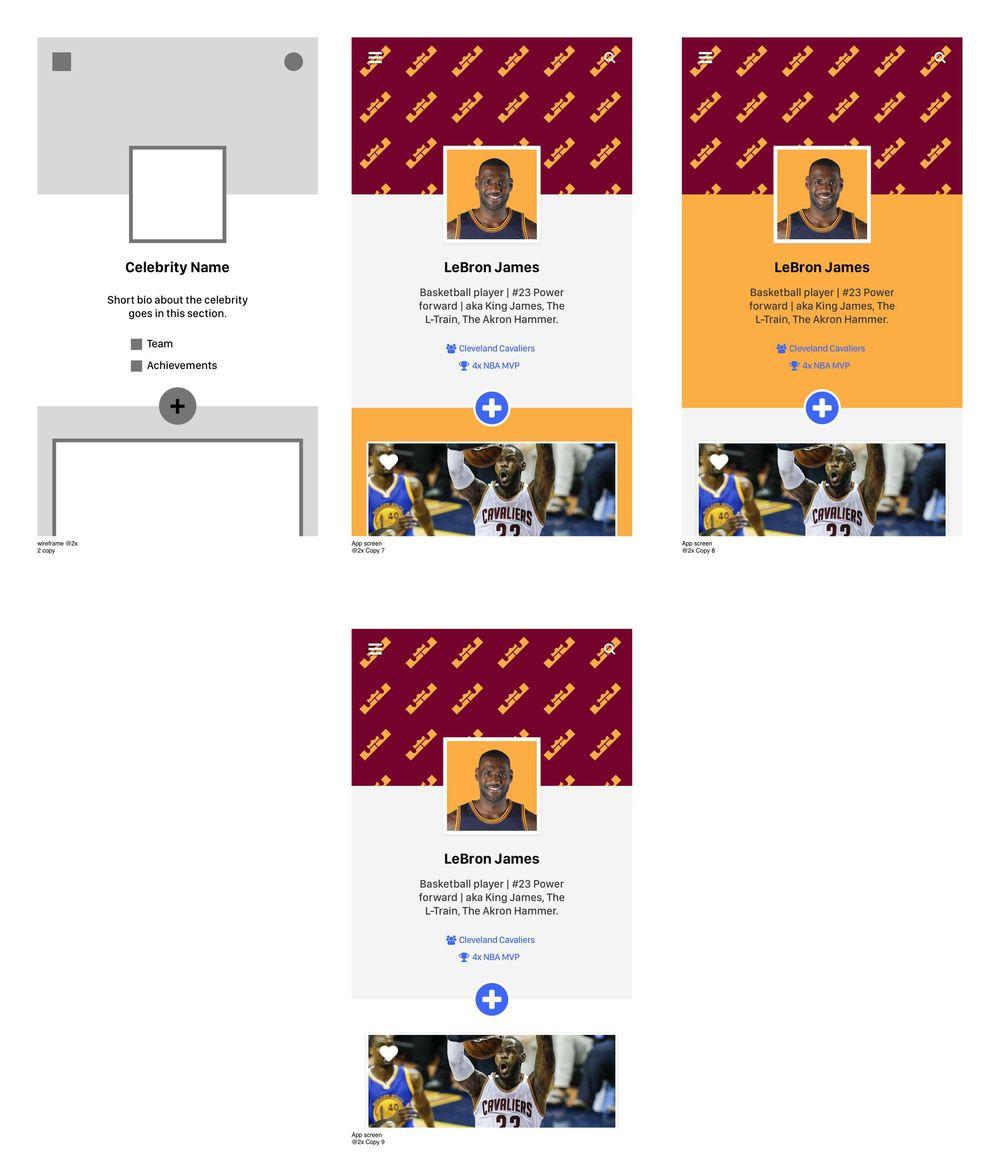 LeBron James - User Profile - image 5 - student project