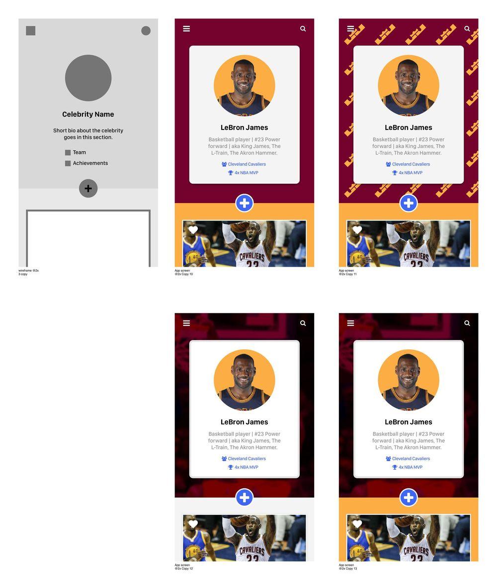 LeBron James - User Profile - image 6 - student project