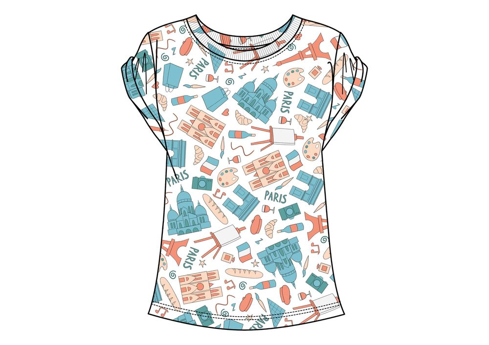 Paris Pattern - image 5 - student project