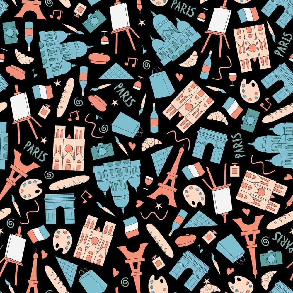 Paris Pattern - image 2 - student project