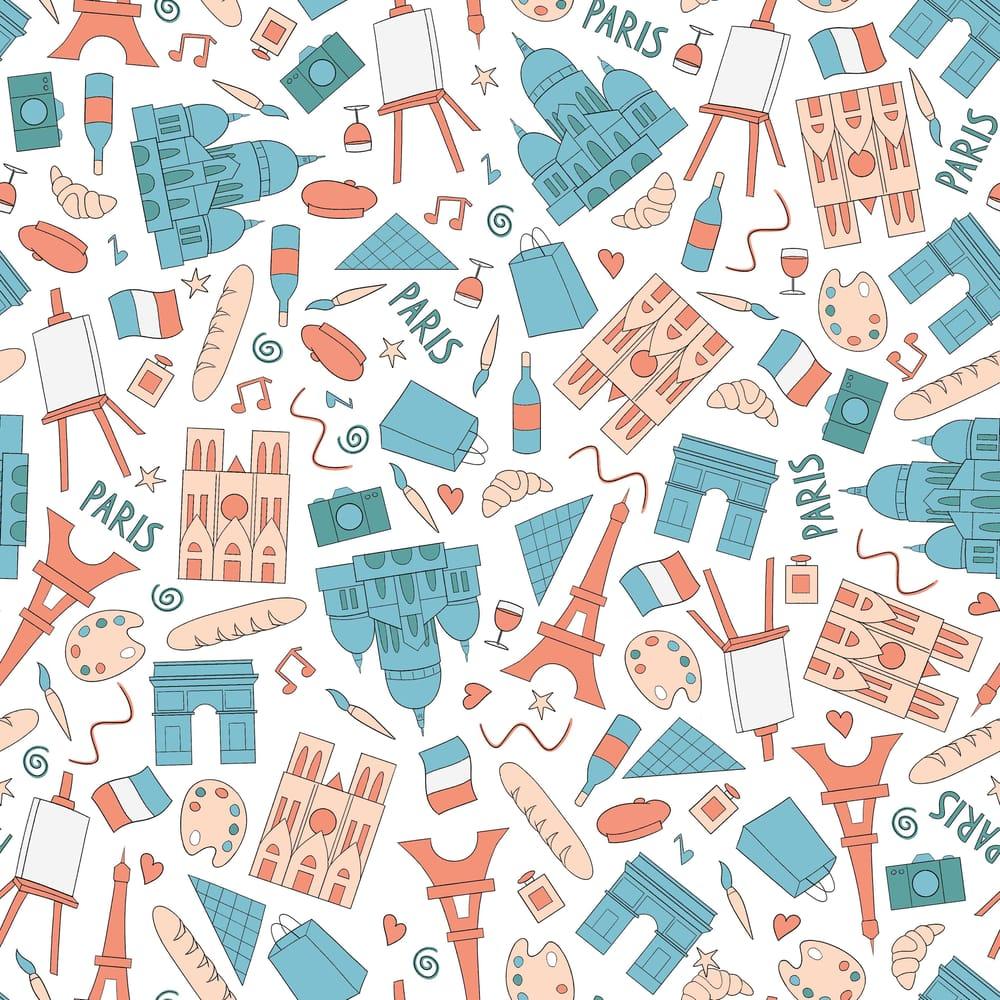 Paris Pattern - image 1 - student project
