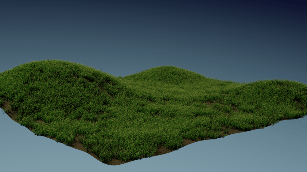 Noice Grass and Fire Simulation - image 1 - student project