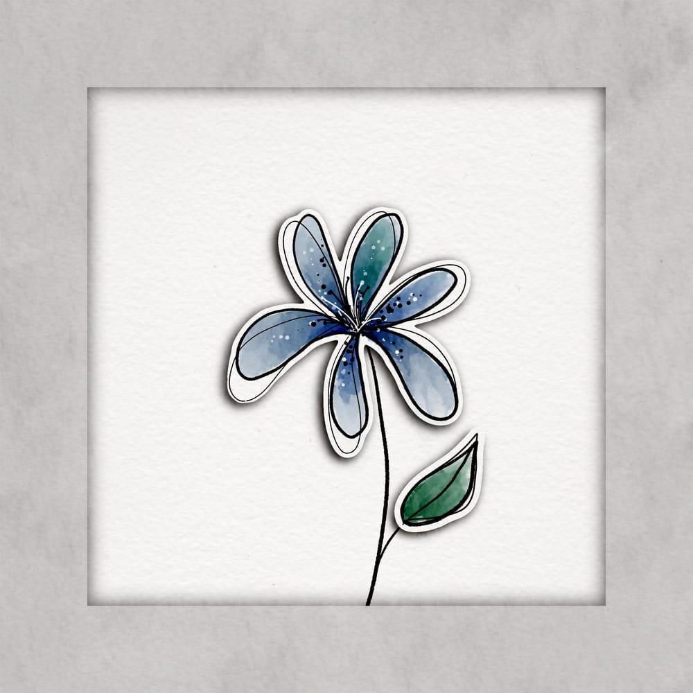 Paper cutout cactus - image 1 - student project
