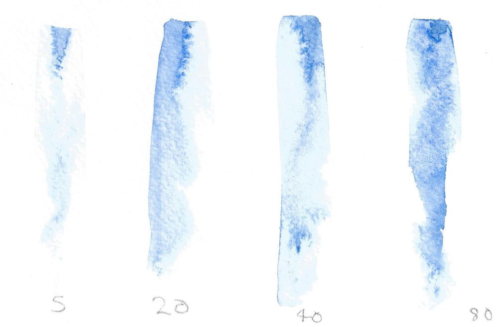 watercolour experiments - image 3 - student project
