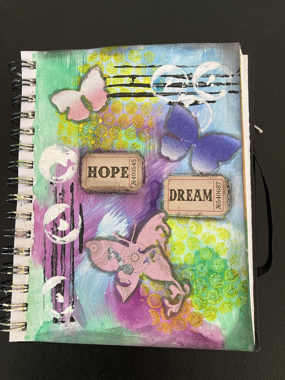 art Journal page - image 1 - student project